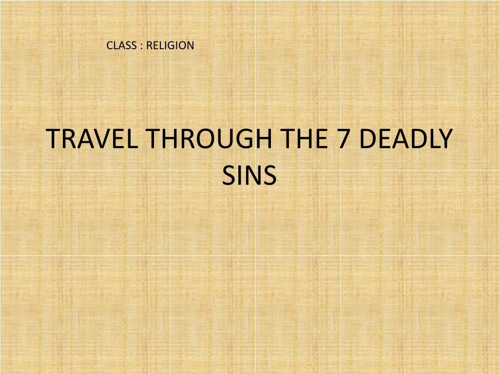 CLASS : RELIGION