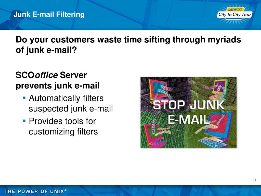 Junk E-mail Filtering