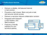 sco office server overview