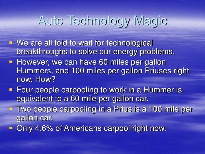 Auto Technology Magic