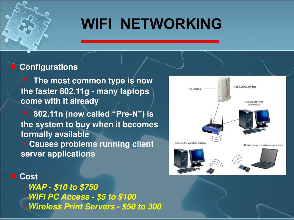 WIFI  NETWORKING