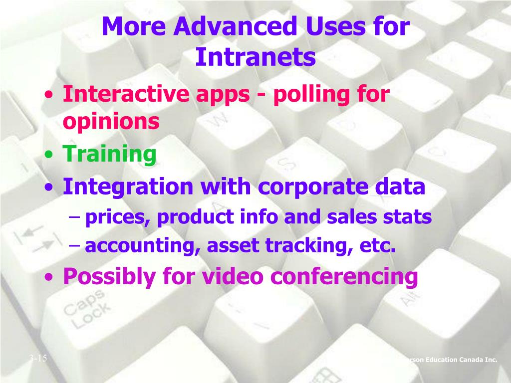 More Advanced Uses for Intranets