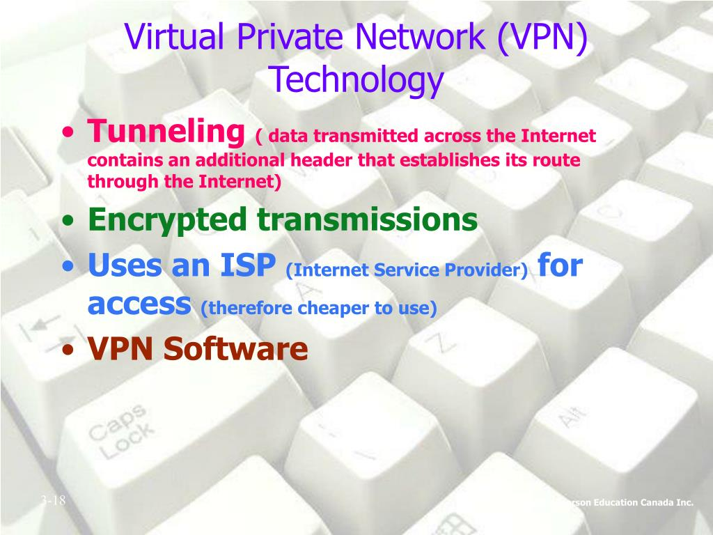 Virtual Private Network (VPN) Technology
