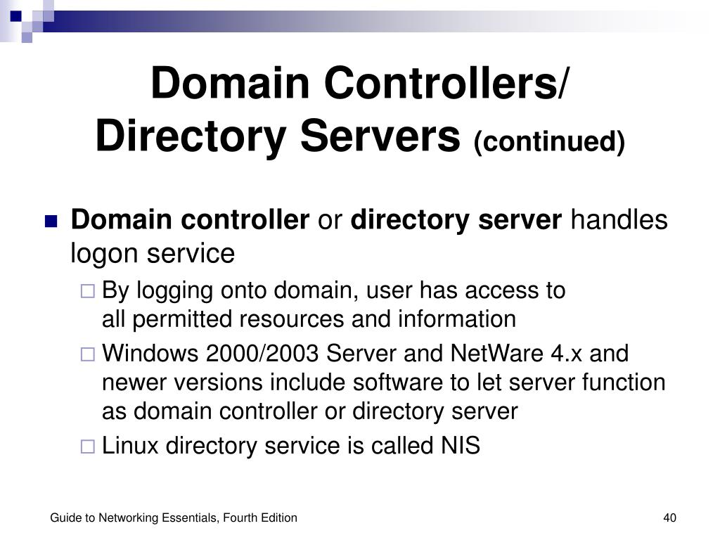 Domain Controllers/