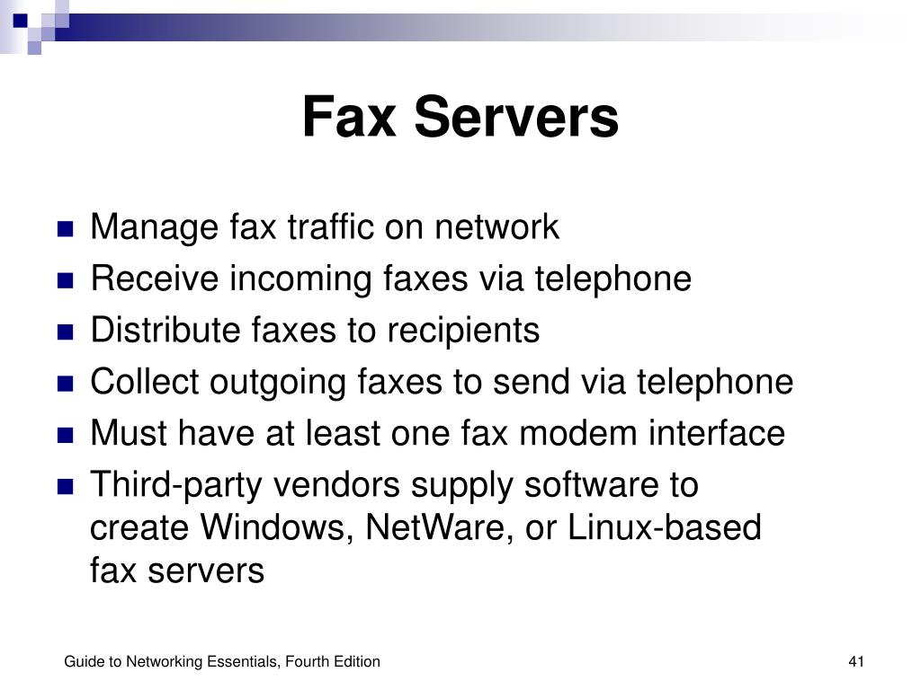 Fax Servers