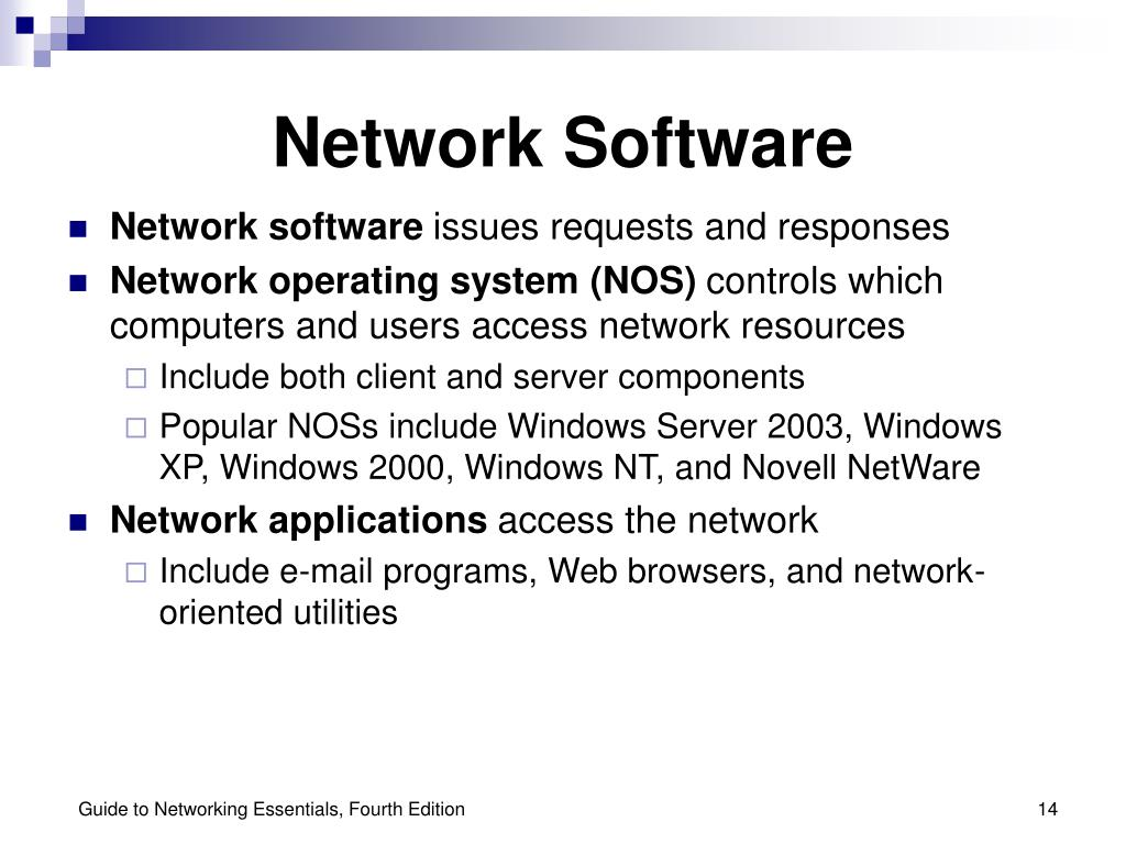 Network Software