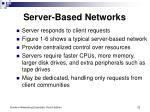 server based networks