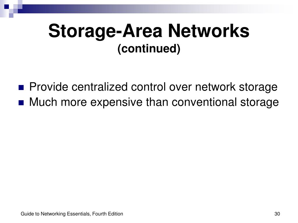 Storage-Area Networks