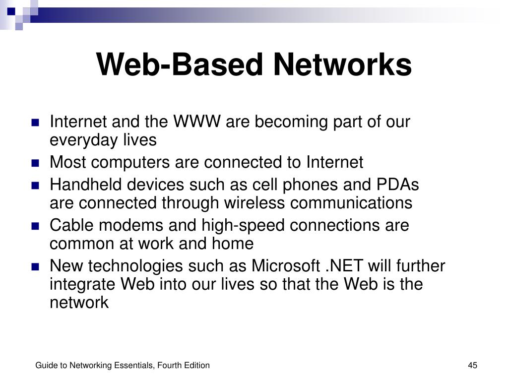 Web-Based Networks