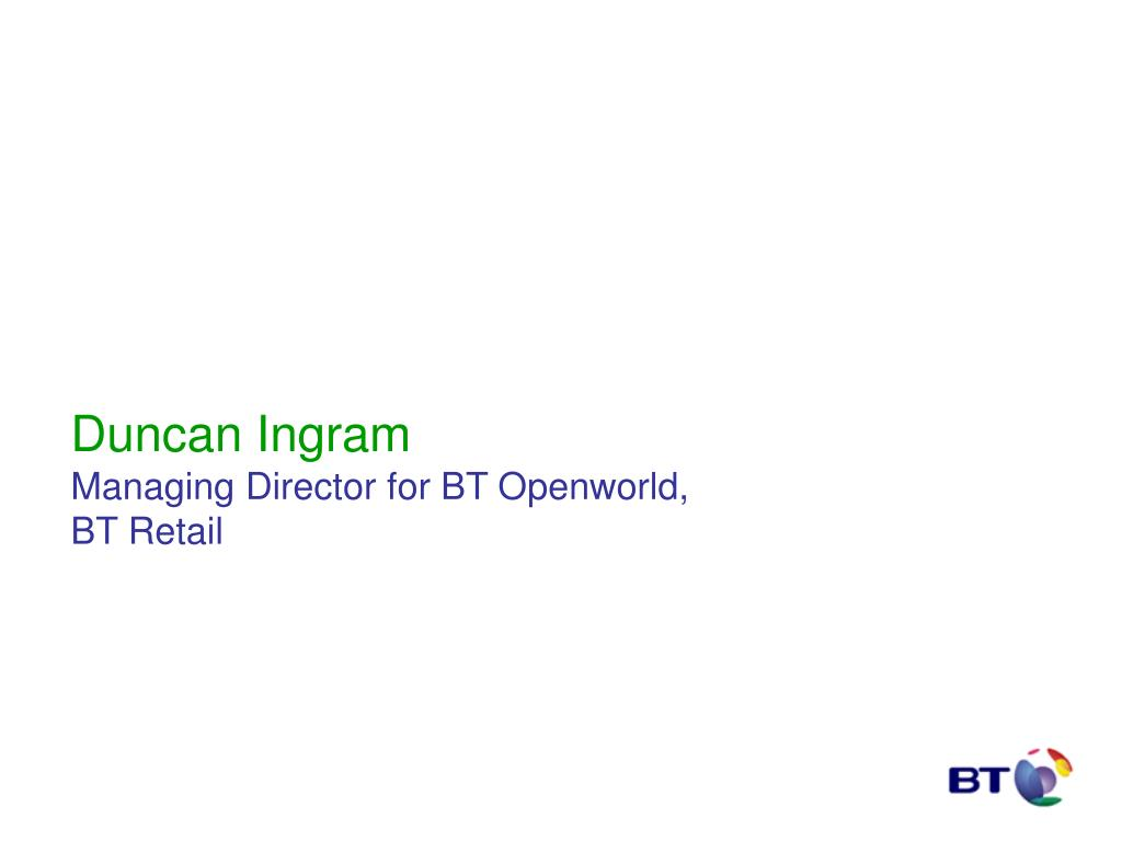 Duncan Ingram