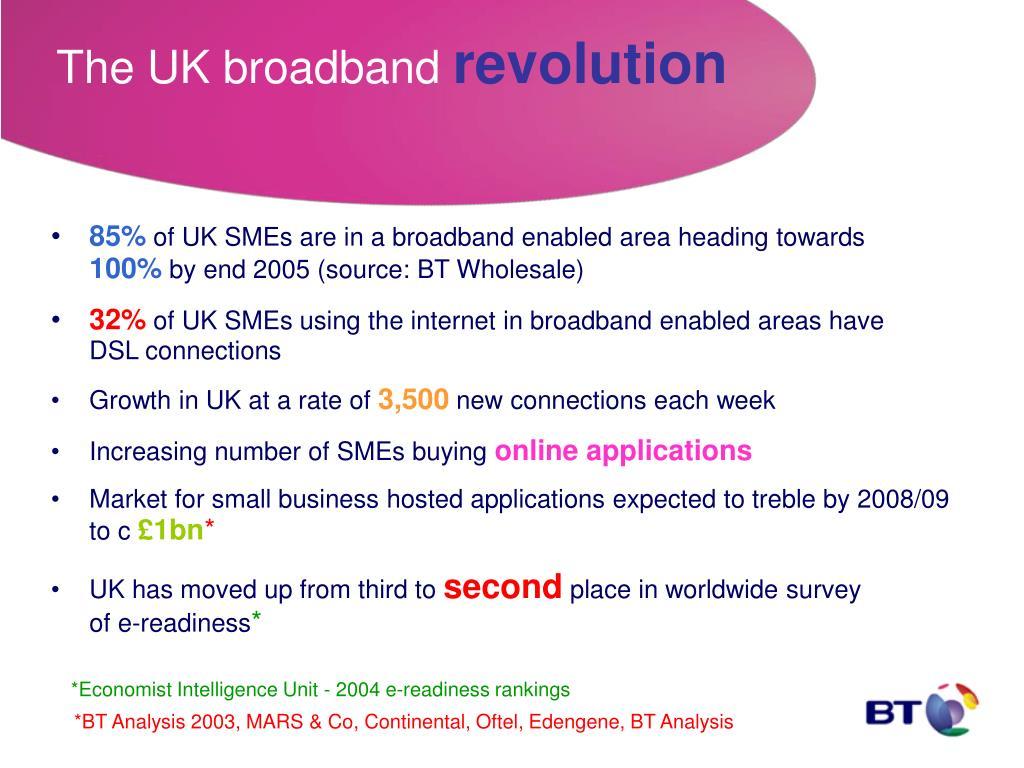 The UK broadband