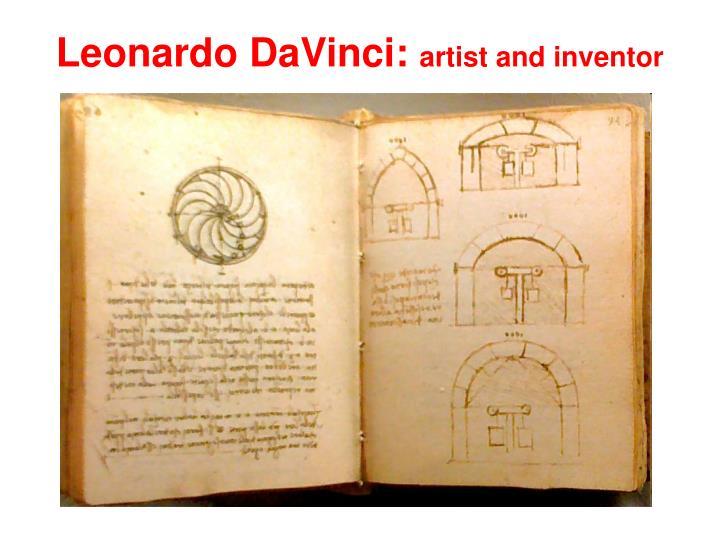 Leonardo DaVinci: