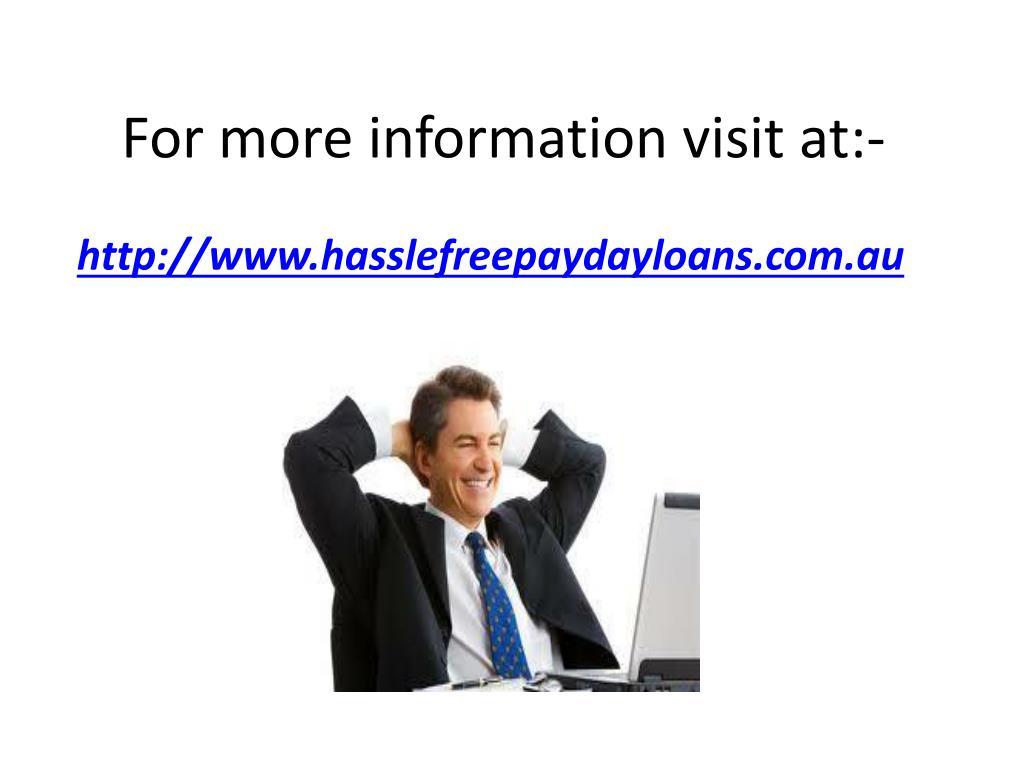 For more information visit at:-
