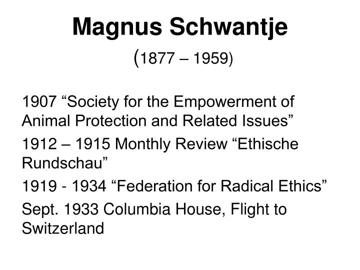 Magnus Schwantje