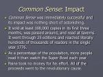 common sense impact