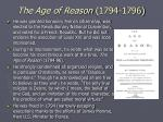 the age of reason 1794 1796
