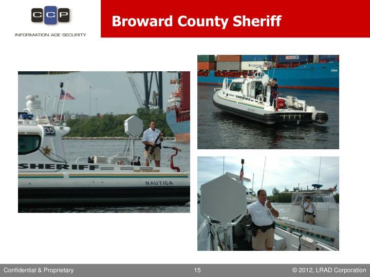 Broward County Sheriff