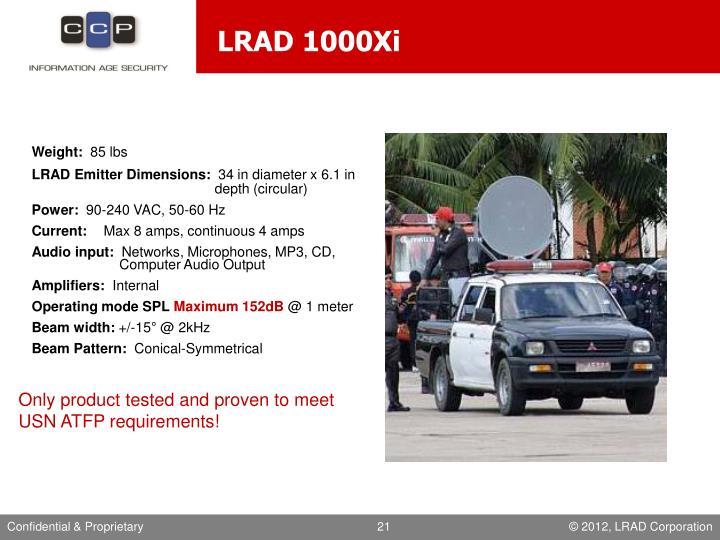 LRAD 1000Xi