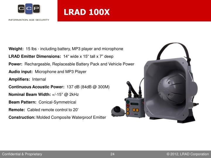 LRAD 100X