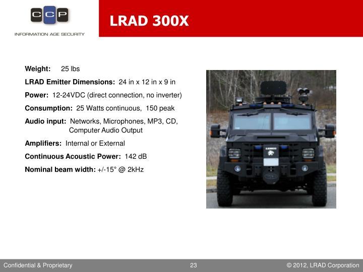 LRAD 300X