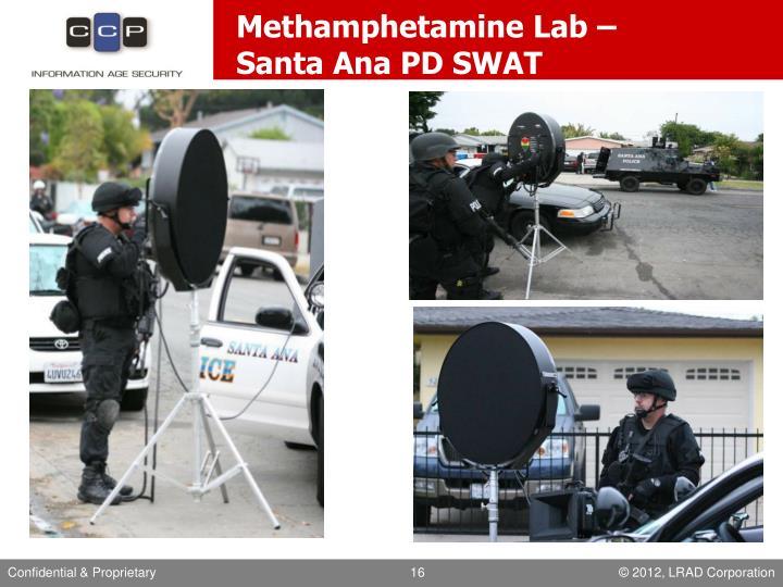 Methamphetamine Lab –
