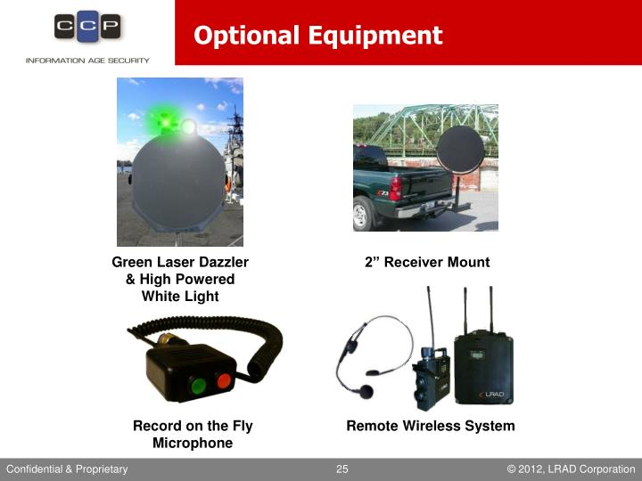 Optional Equipment