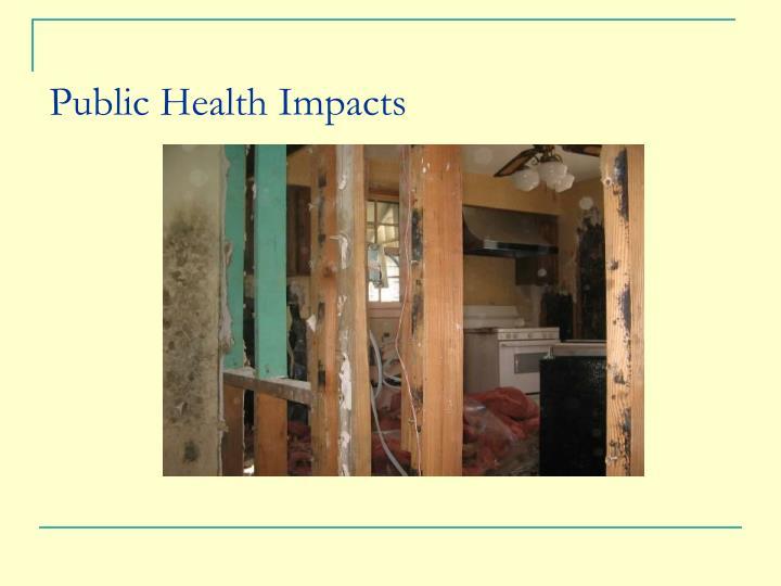 Public Health Impacts