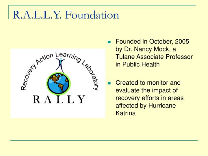 R.A.L.L.Y. Foundation