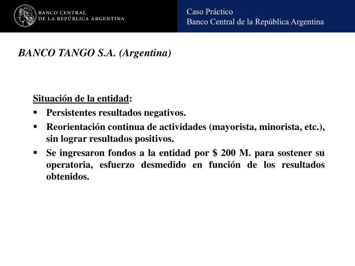 BANCO TANGO S.A. (Argentina)