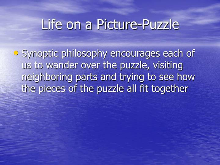 Life on a Picture-Puzzle
