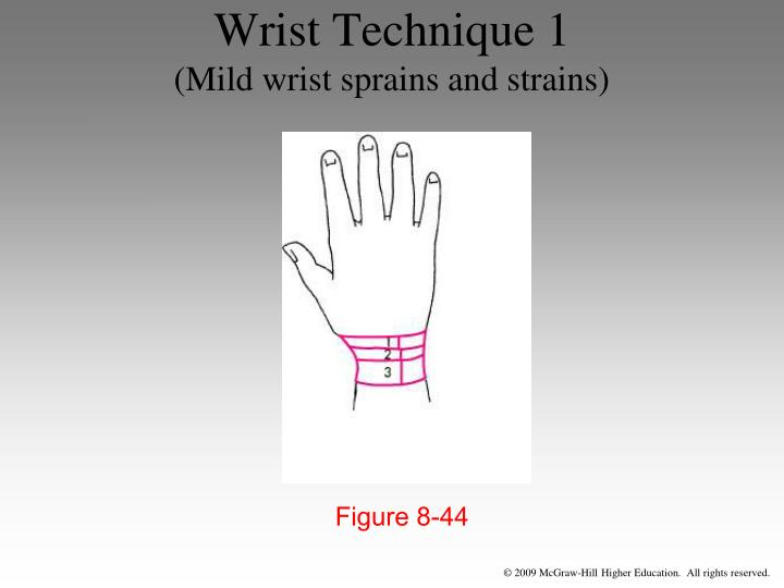 Wrist Technique 1