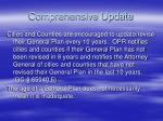 comprehensive update