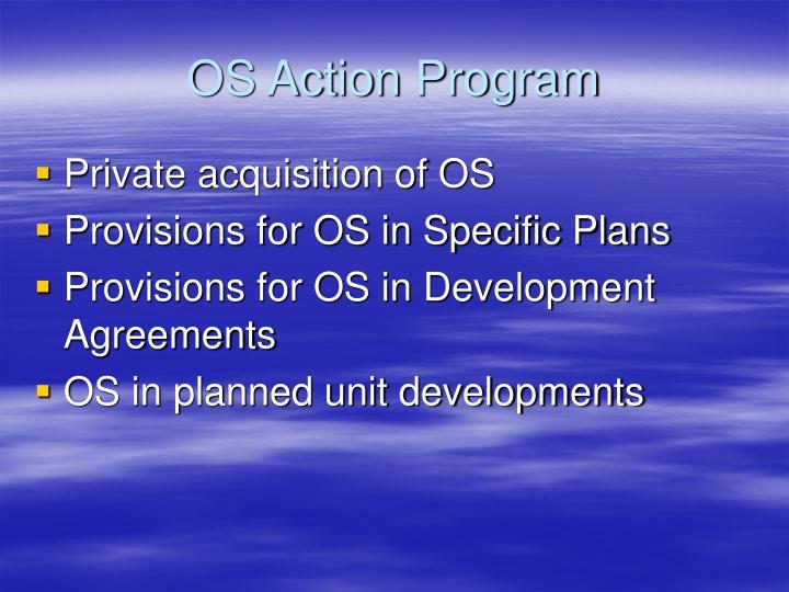 OS Action Program