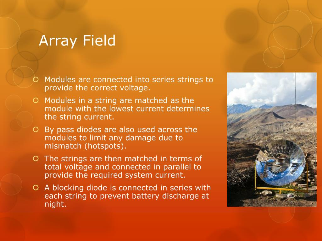 Array Field