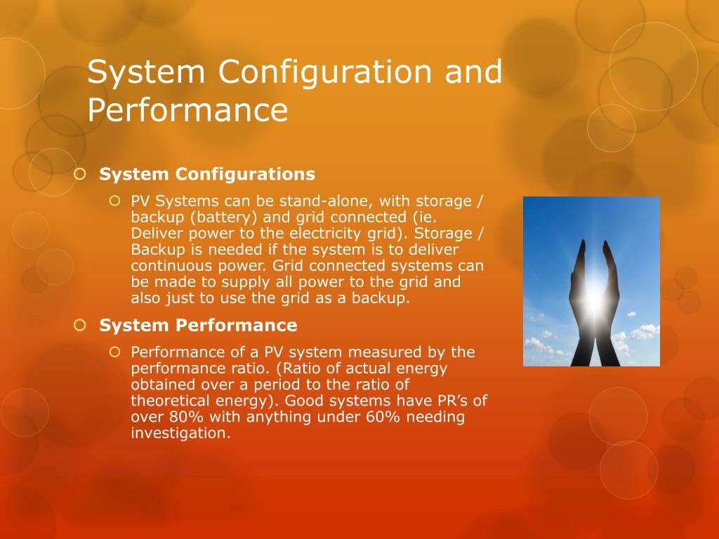 System Configuration and Performance