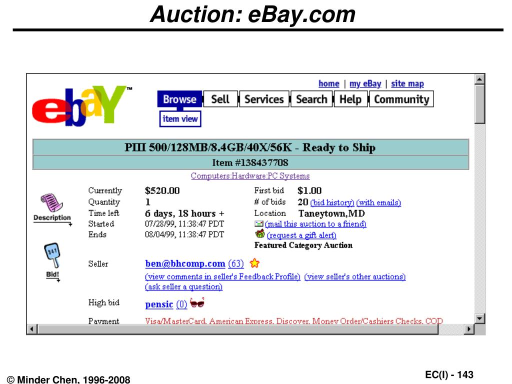 Auction: eBay.com