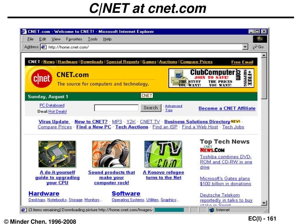 C|NET at cnet.com