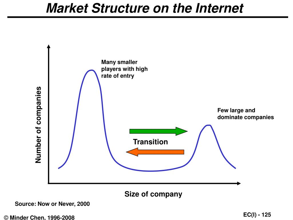 Market Structure on the Internet