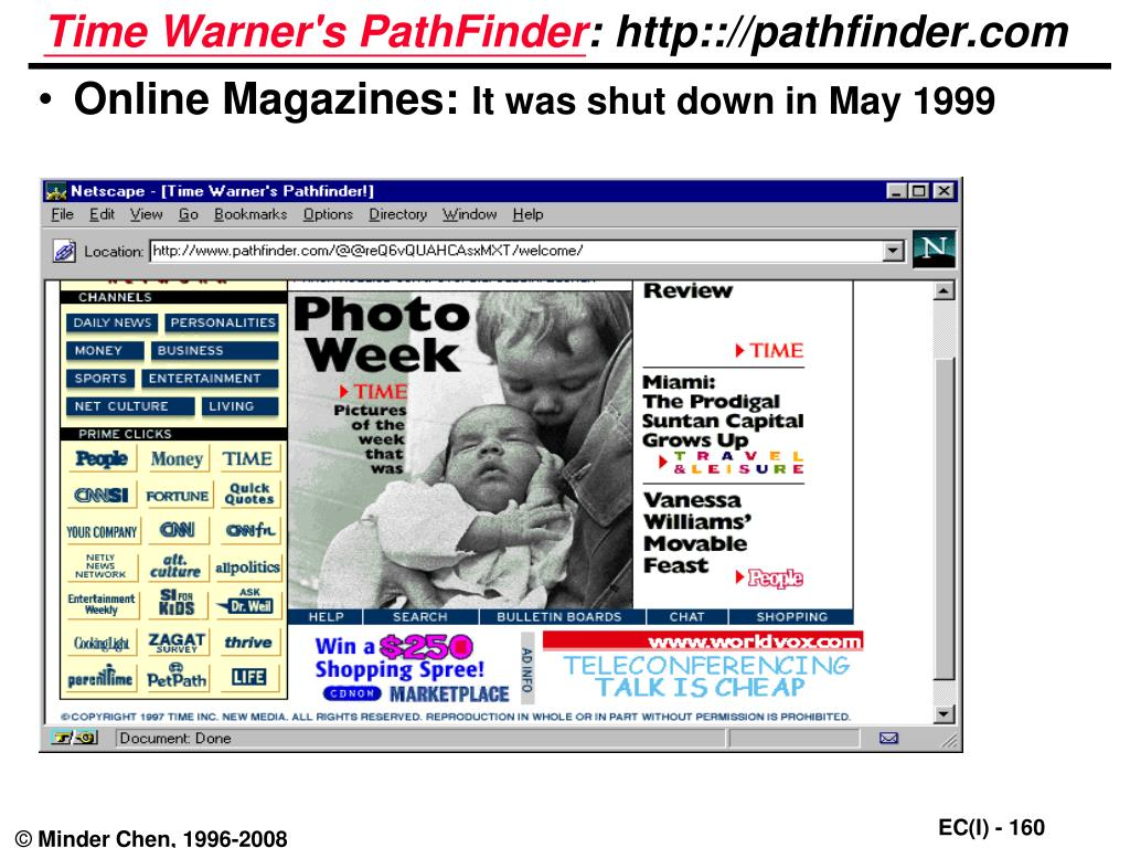 Time Warner's PathFinder