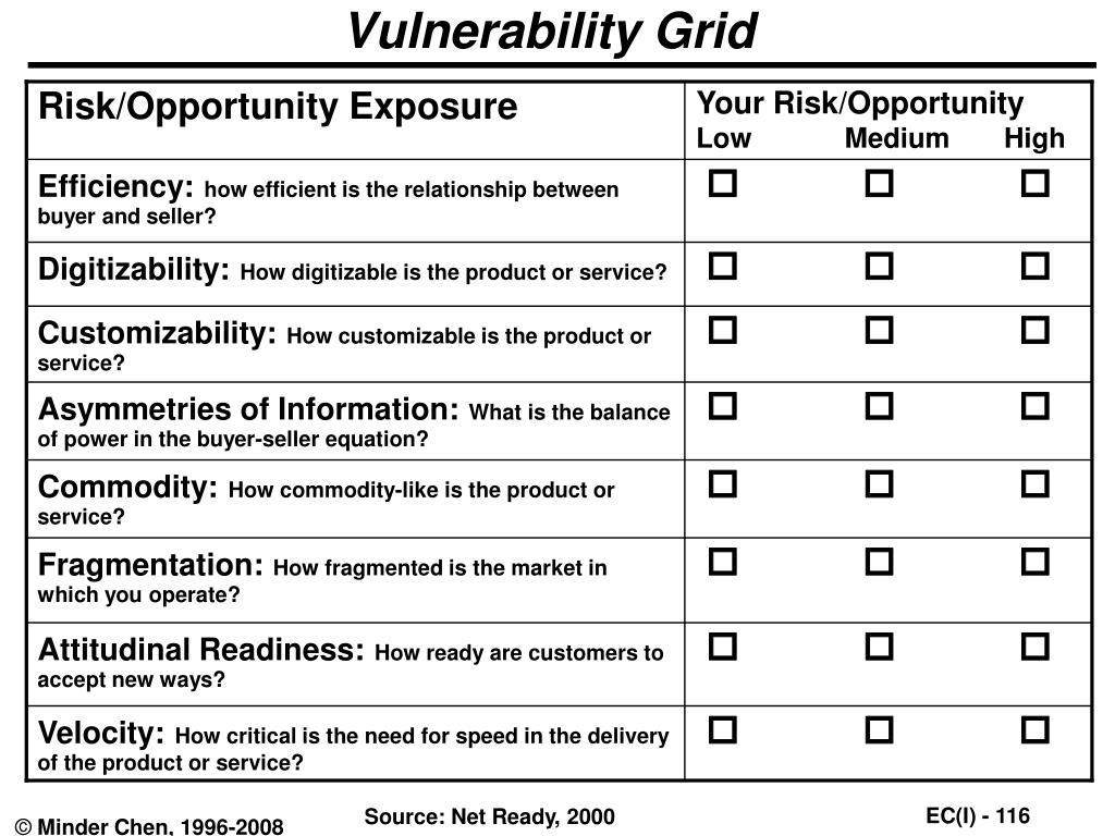 Vulnerability Grid