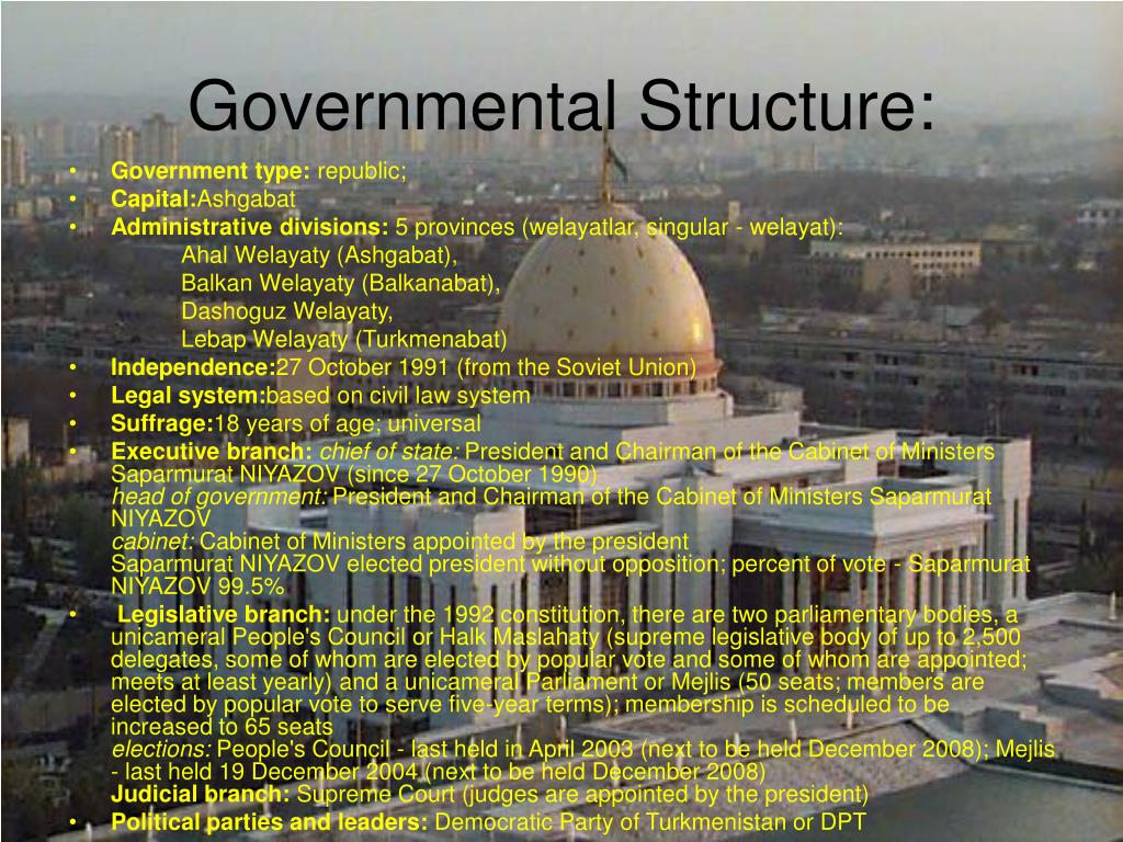 Governmental Structure: