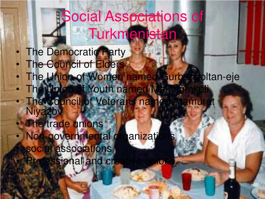 Social Associations of Turkmenistan