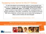 equipping every learner for the 21 st century