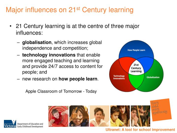 Major influences on 21