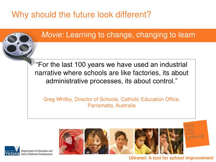 Why should the future look different?