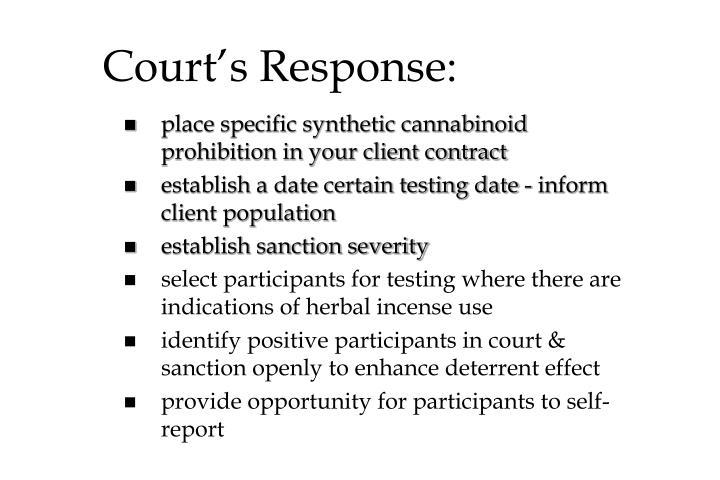 Court's Response: