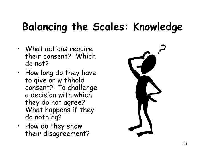 Balancing the Scales: Knowledge
