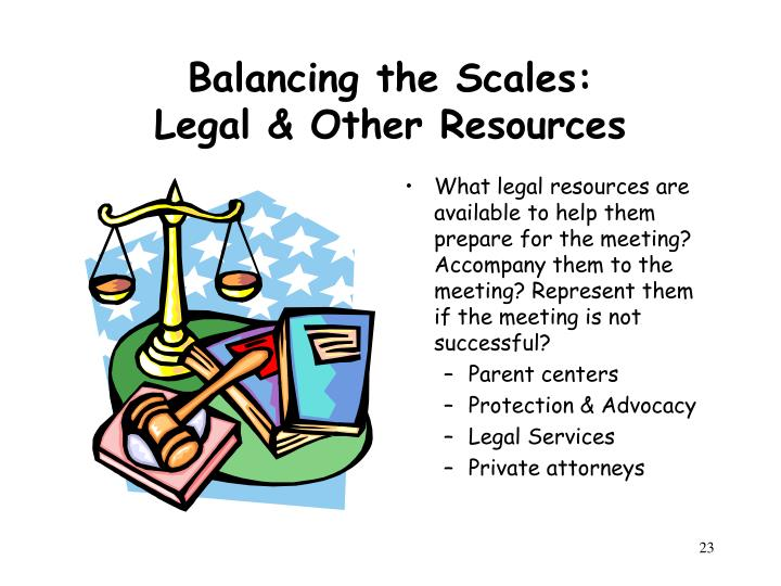 Balancing the Scales:
