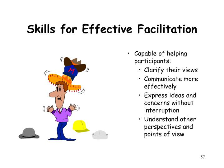 Skills for Effective Facilitation