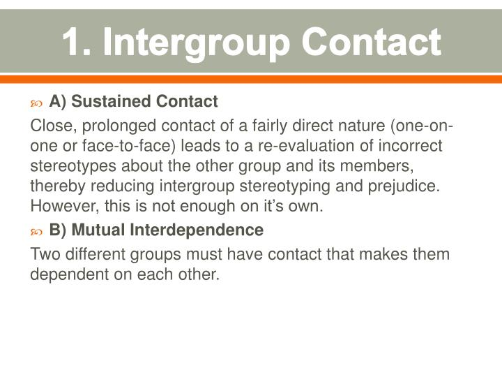 1. Intergroup